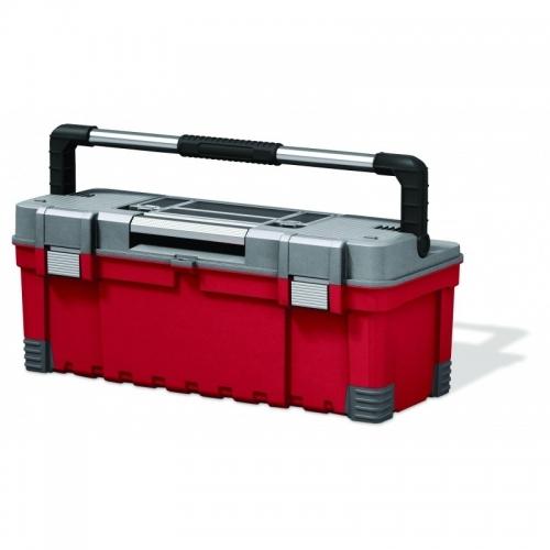 KETER kufřík HAWK POWER, 66 x 28,7 x 26,3 cm, červená/šedá/černá