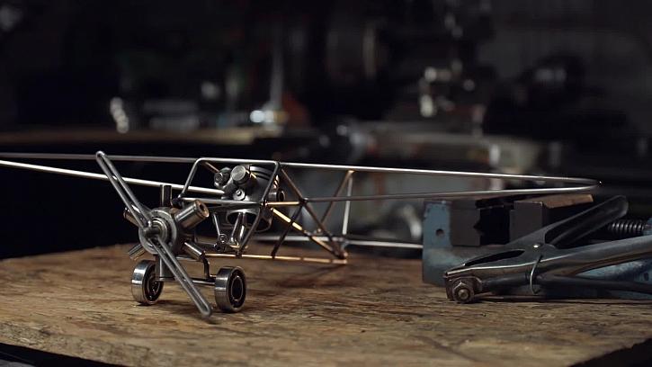 Kovové letadlo