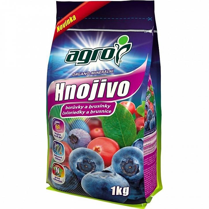 Hnojení borůvek