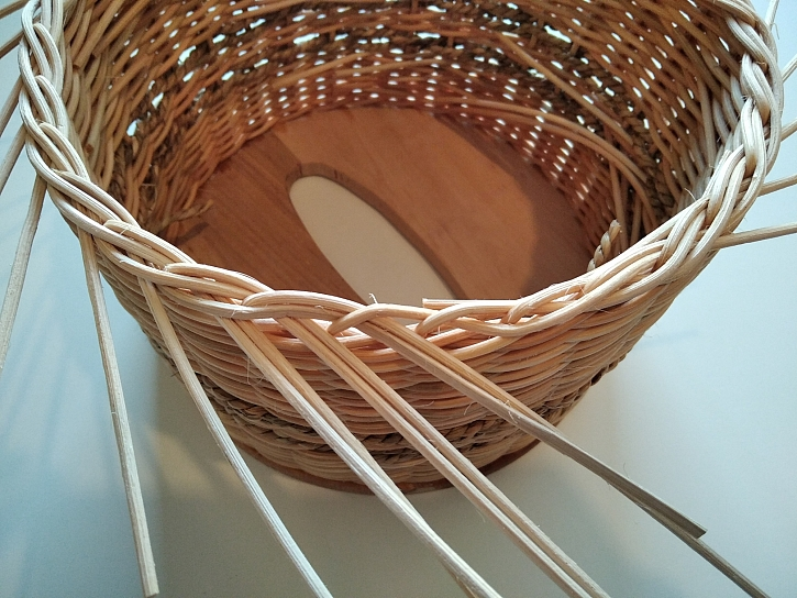 Pletení osnovními pruty
