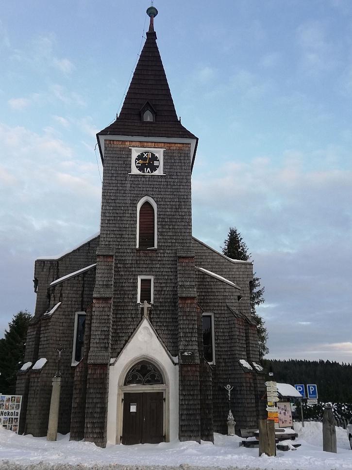 Kvilda kostel sv.Step