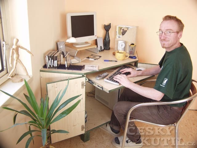 Domácí pracovna nebo zázemí pro školáky – 1. díl