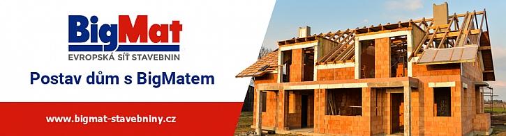 Představujeme vám stavebniny BigMat, vhodného pomocníka stavby vašeho domu…