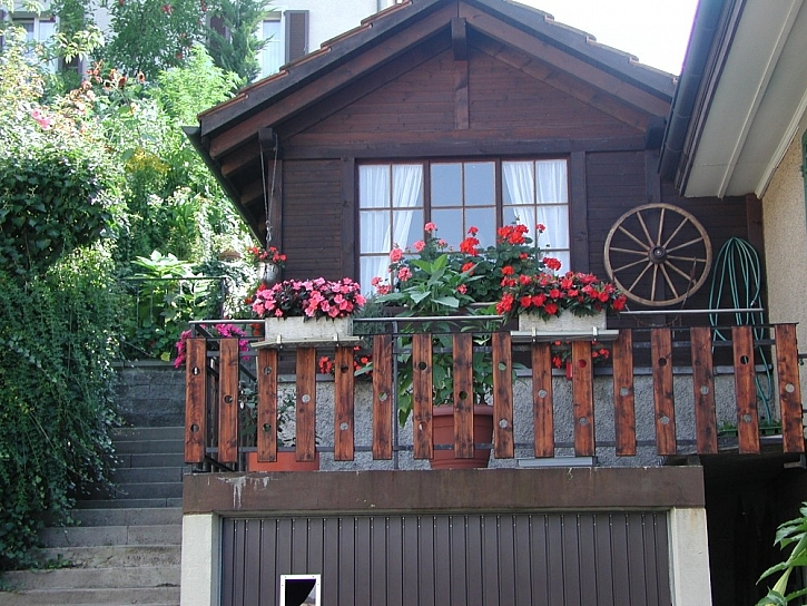 Dřevěná zábradlí pro balkony a terasy