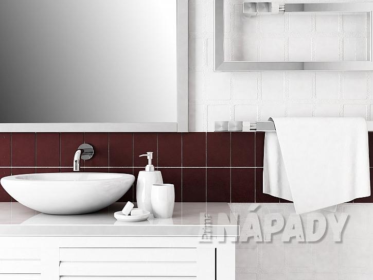 Moderní koupelna si žádá minimalismus