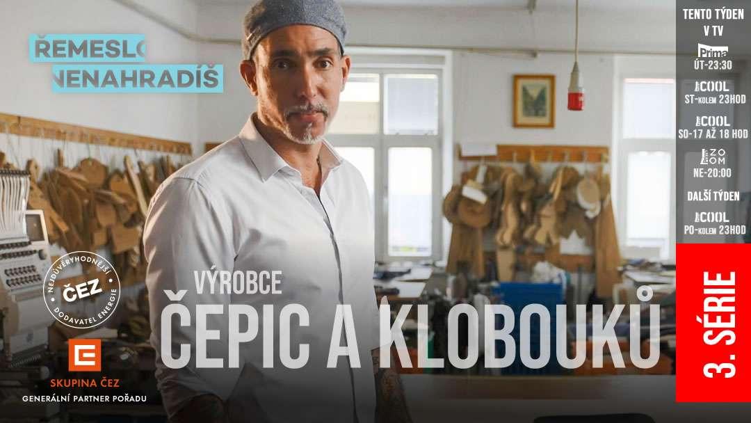 Další nové díly seriálu Řemeslo nenahradíš - 3. série, 14. díl - Andres Nunez Castellon - Výrobce čepic a klobouků