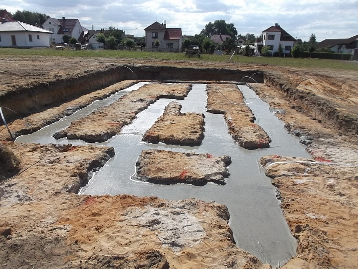 5) Doprava na stavbu, betonáž