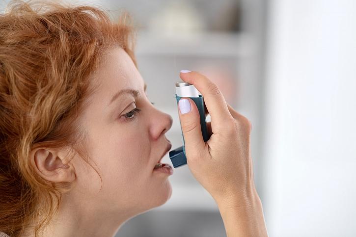 Astma trápí na milion Čechů, obtíže je ale možné držet pod kontrolou (Zdroj: Depositphotos)
