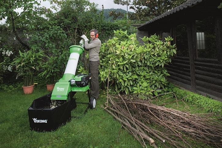 Drtiče a štěpkovače pro snadný úklid větviček a dřevního odpaodu