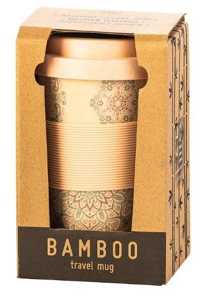 bambusový cestovní hrnek