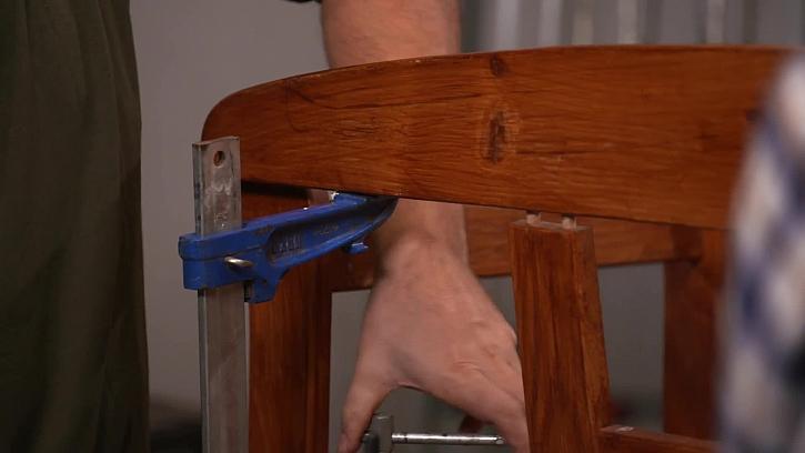 Rozebrání nábytku díky rozpěrkám