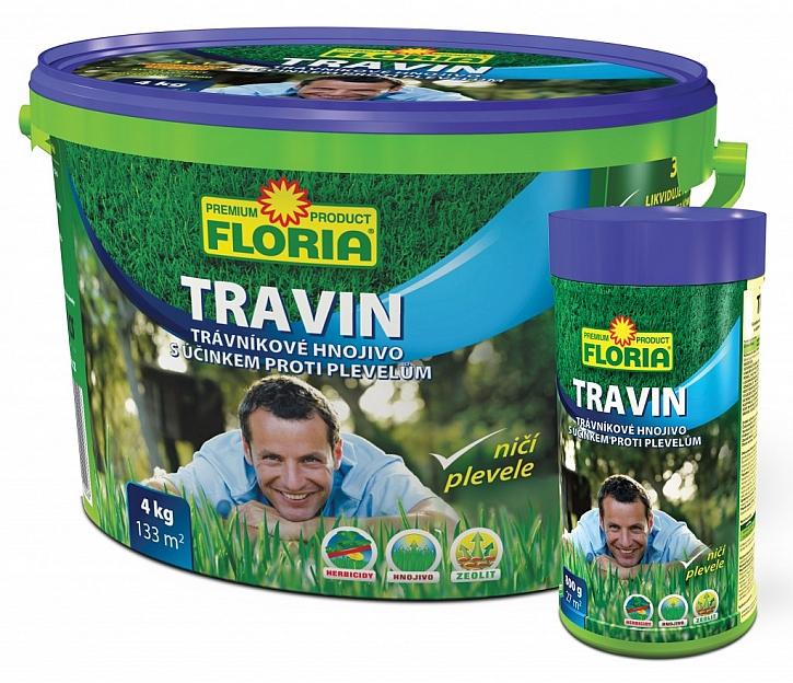 S plevelem v trávníku zatočí TRAVIN!