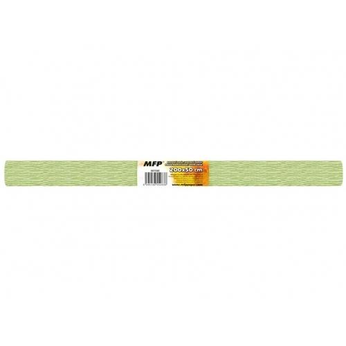 MFP krepový papír role 50x200cm perleťový zelený