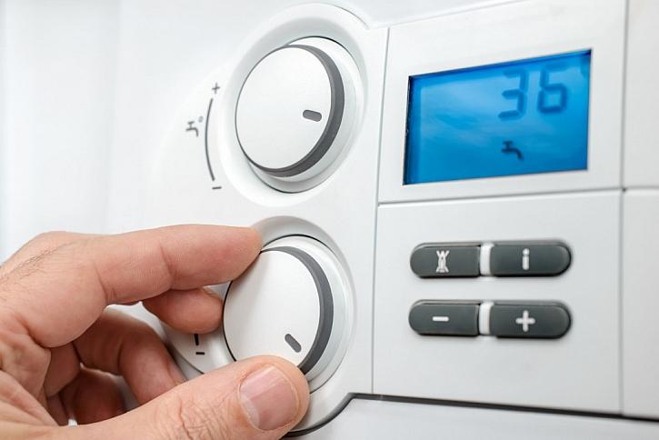 Výhodou moderních elektrokotlů je možnost ovládání dálkových ovladačem či telefonem