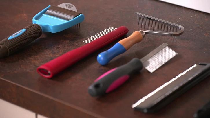 Nástroje pro péči o srst