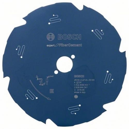 BOSCH Pilový kotouč Expert for Fiber Cement, 230 x 2,2/1,6 mm