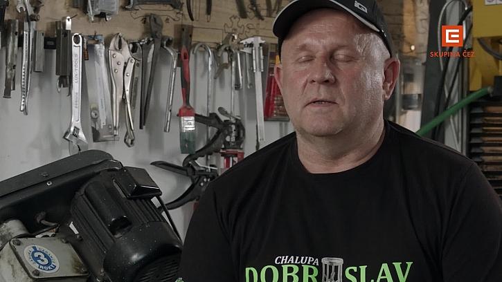Dobroslav Picek je Michalův otec