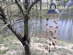 Vyrobte si andělské zvonění na zahradu