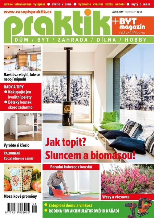 Časopis Praktik 1/2017 – vytápění a osvětlení