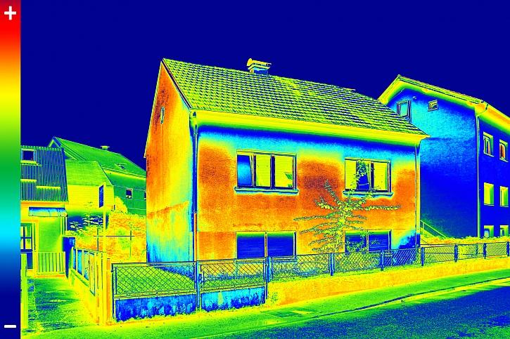 Použití termokamery na stavbě