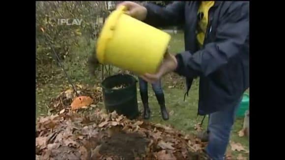 Listí vhodné ke kompostování
