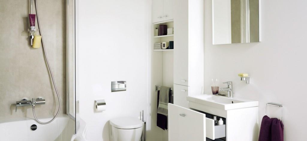 Nový trend v koupelnovém designu do malých koupelen Connect Space