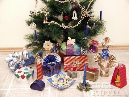 Několik tipů na balení dárků