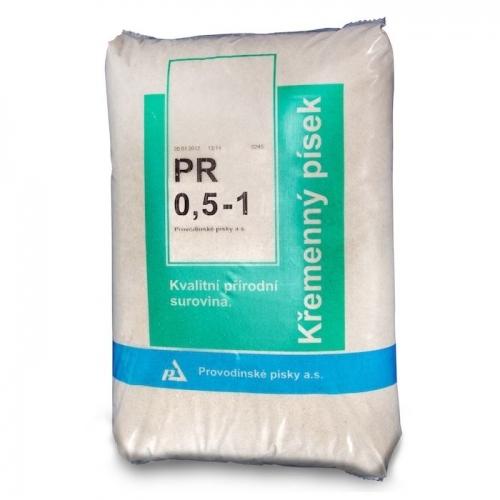 Bazénový filtrační písek 25 kg PR 0,6 - 1,2 PAP 25