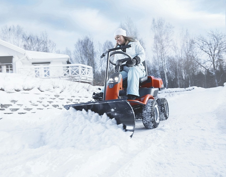 Zimní příslušenství pro zahradní stroje