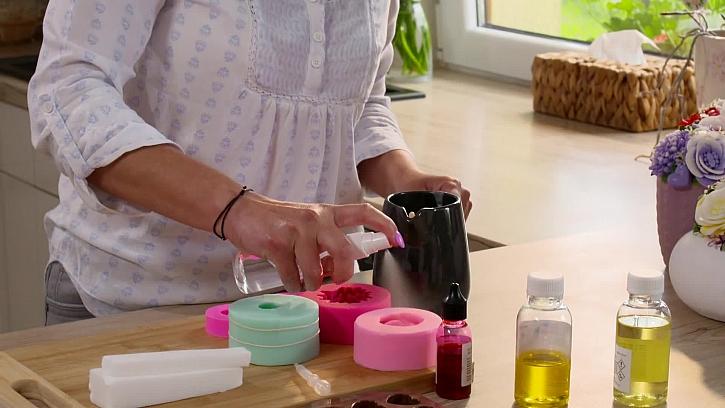 Stříkání mýdlové formy