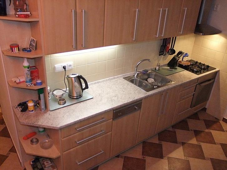 Ytong-koupelna a kuchyň s novým půdorysem, 2.díl