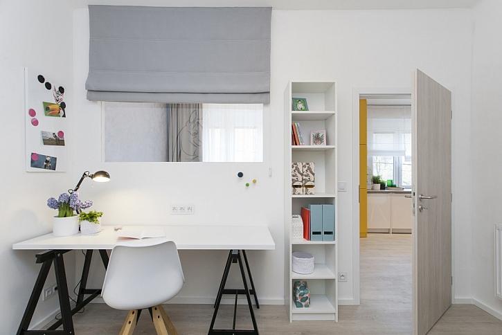 Proměna a úprava bytu pro malířku
