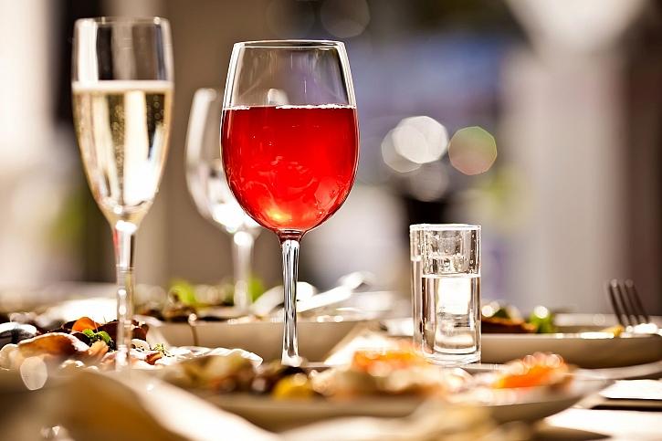 Vinné skleničky