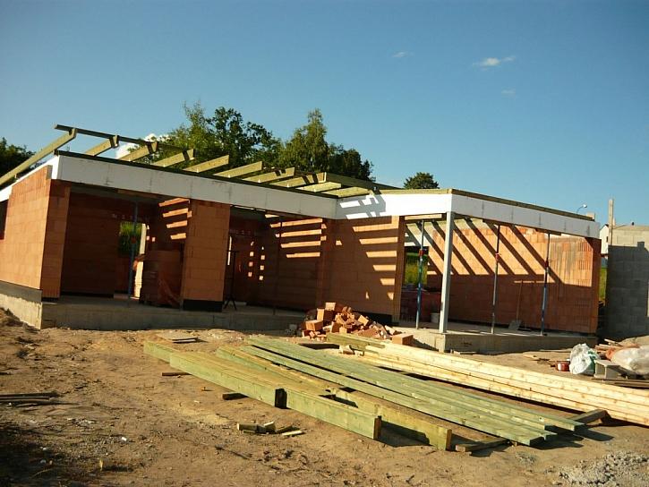 Jednovrstvá konstrukce zdiva pro nízkoenergetický dům