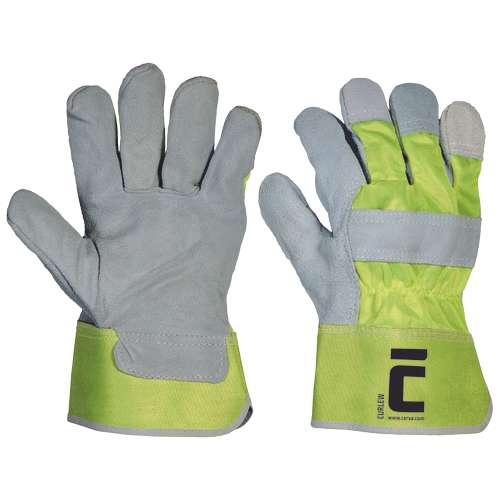 Curlew Winter jsou zateplené rukavice z jednobarevné jemné lícové hověziny v dlani a prstech