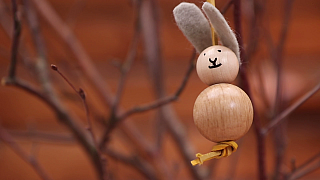 Jak si vyrobit veselý přívěsek ve tvaru zajíčka?