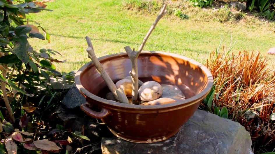 Jak oživit zahradu a udělat radost zpívajícím návštěvníkům: Pítko pro ptáčky