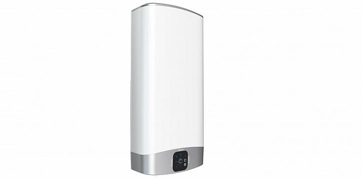 Ohřívač VELIS EVO (na obrázku) i VELIS EVO PLUS mají vylepšený elektronický termostat a díky funkci ECO EVO je snížena spotřeba elektrické energie až o 14 %. K další úspoře přispívá konstrukce s chytrou dvojitou nádrží, která zajistí rychlejší ohřev vody.