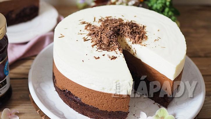 Recept na trojitý čokoládový dort