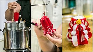 Řezané svíčky: Jak vyrobit zajímavý vánoční dárek