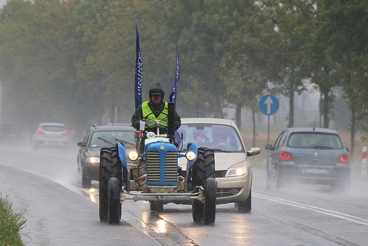 Rekordman na historickém traktoru