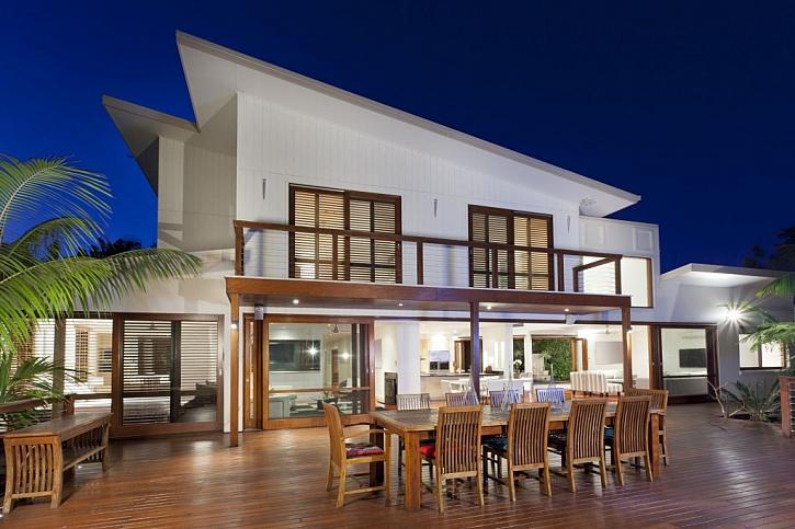 Pultová střecha vypadá skvěle na moderním domě