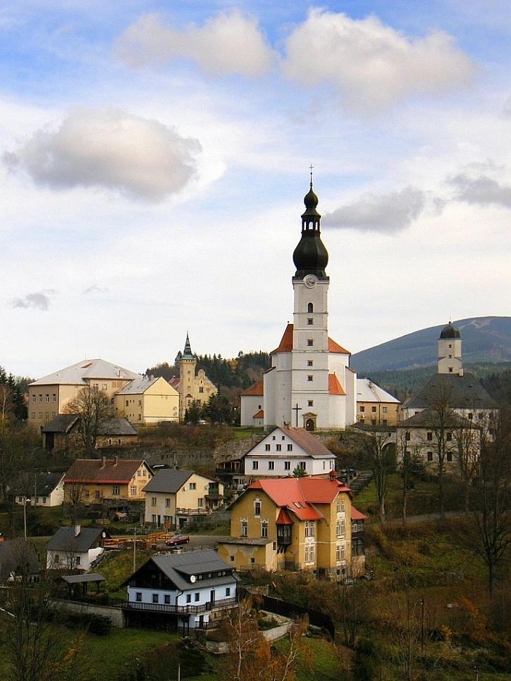 Fotky krajinek a vesniček od čtenářů