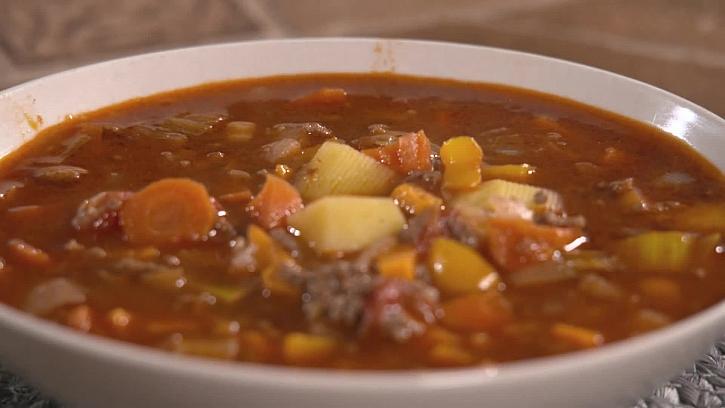 Recept na jarní polévku se zázvorem