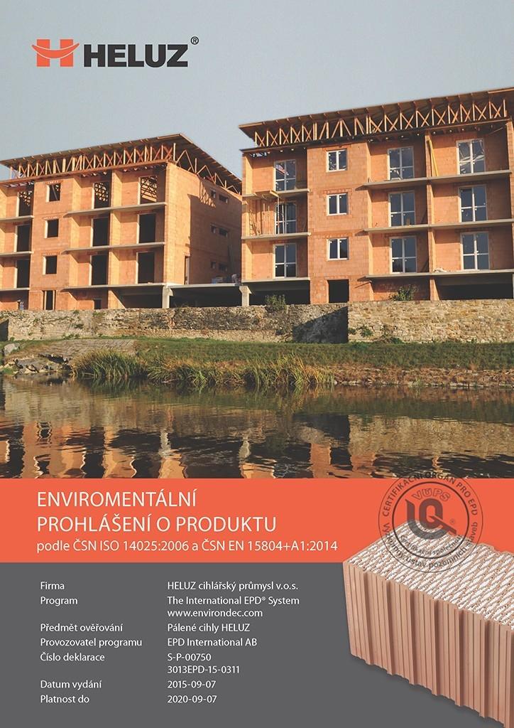 Cihly Heluz: jediný výrobce cihel deklaruje ekologickou výrobu