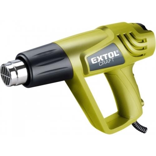 EXTOL CRAFT pistole horkovzdušná, 2000/1000W, 550/350°C 411013