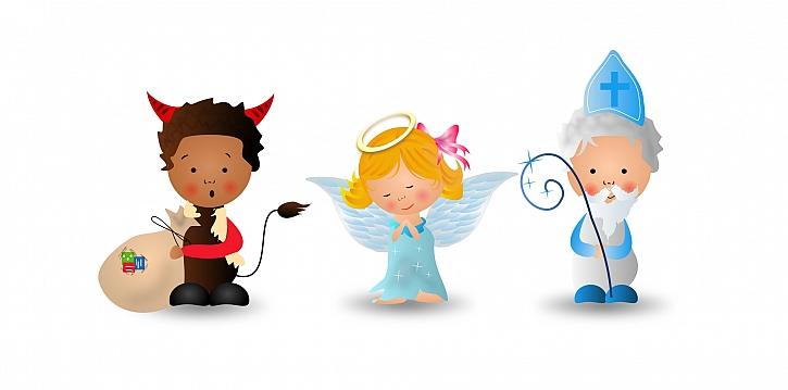 Čert, anděl i Mikuláš