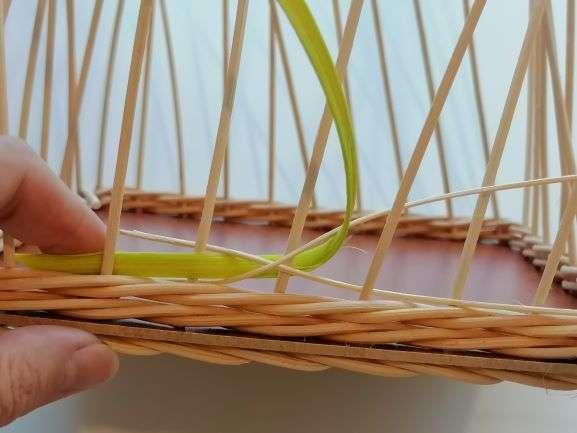 Vytažení zeleného pásku