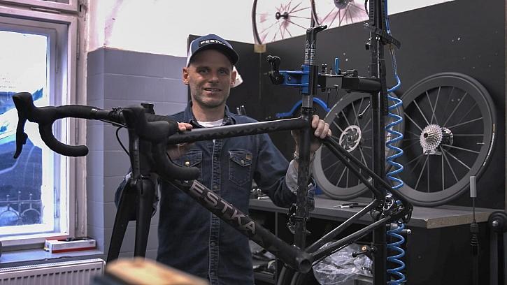 Michal Moureček - výrobce kol
