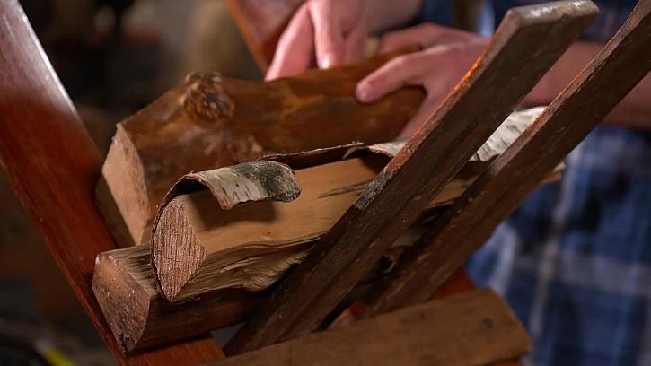 Ukládání dřeva